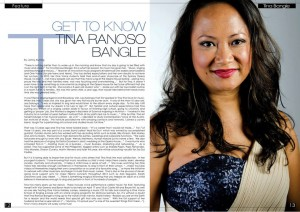 Tina featured on Instyle Magazine