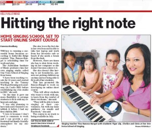 Hitting the right notes - Rouse Hill times