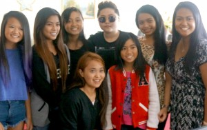 Sydney Support acts with Charice.